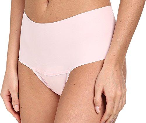 Hanky Panky Women's Bare Godiva Thong Panty, Bliss Pink Medium