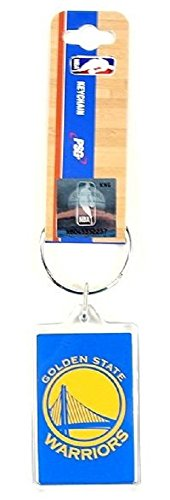 NBA Premium Team Logo Acrylic Keychain Key Ring (Golden State Warriors)