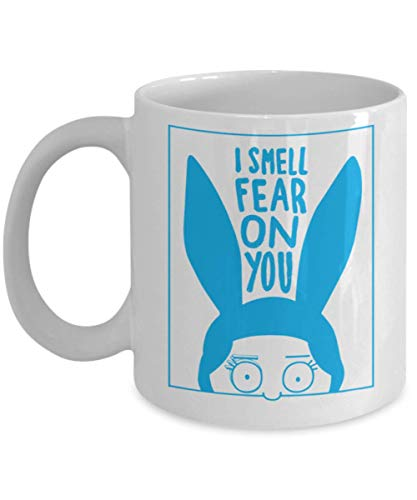 I Smell Fear On You Mug I can smell fear on you mug, current mood halloween Mug, Gift Dad for Father's day Daddy, Gift Idea for Women and Mother, -