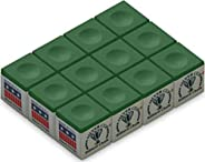 Silver Cup Billiard Chalk Box 12-Piece