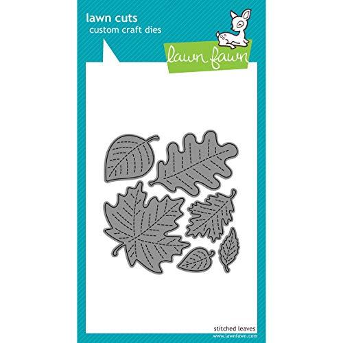 Lawn Cuts Custom Craft Die -stitched Leaves