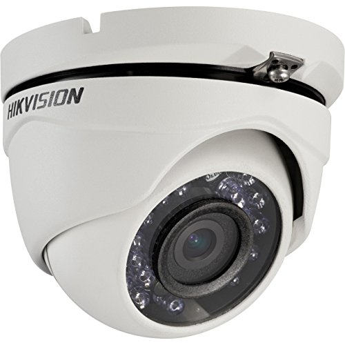 Hikvision DS-2CE56D1T-IRM(3.6MM) Outdoor Turbo HD IR Turret Camera with BNC Connection, HD1080P, 3.6 mm Lens, DWDR, IP66 Standard, 20M to IR, - Bnc Connection