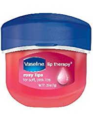 Vaseline Lip Therapy Lip Balm Mini, Rosy, 0.25 oz