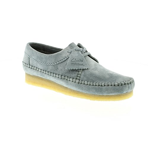 clarks-originals-mens-weaver-blue-grey-suede-mens-shoes-11-us