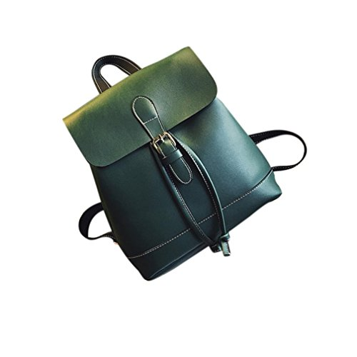 School Backpacks Backpack Hiking Women Rucksack Womens Teenagers Girls Backpack Brown Bags Green Fashion Leather TUDUZ Travel YdawOq4
