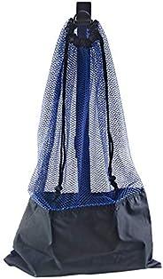 Mesh Bag Draw String w/ Shoulder Strap