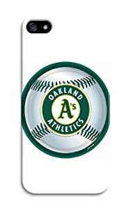 LarryToliver Hot iphone 5/5s Logo Case Cover for Customizable Baseball Oakland Athletics