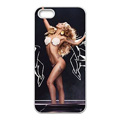 Diy Case for iPhone 5,5S ,Lady Gaga Customized case Fashion Style UN073397