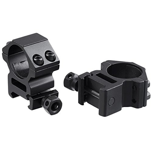 Buy Cheap Vokul® 1 Inch Scope Mount Rings of 1 Pair for Picatinny/weaver Rails High Quality