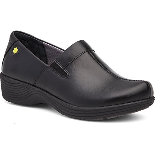 Work Wonders by Dansko Women's Coral Black Leather Shoe