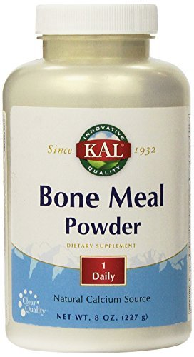 Meal 8 Oz Powder - KAL Bone Meal Powder, 8 Ounce by Kal