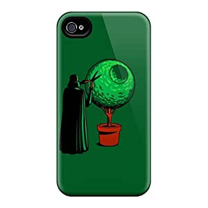 Top Quality Protection Funny Dark Vader Case Cover For Iphone 4/4s
