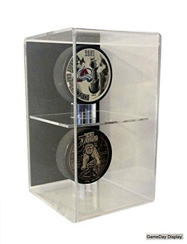 hockey puck wall display case - 7