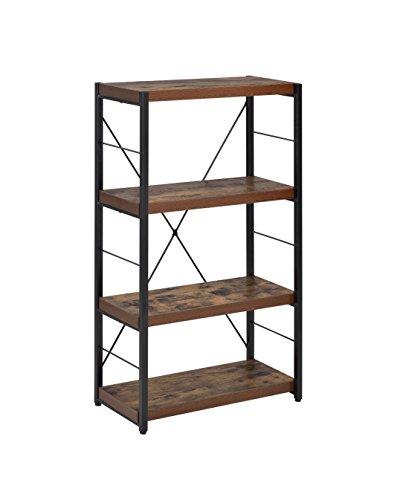 ACME Furniture Acme 92399 Bob Bookcase, Weathered Oak, One