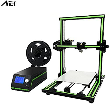 aibecy Anet E10 3d impresora DIY Kit parcialmente montado Super Building volumen 220 * 270 * 300 mm con 8 GB TF Card