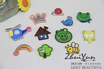 Amazon Com Korean Children Cute Embroidery Handmade Cloth Animals