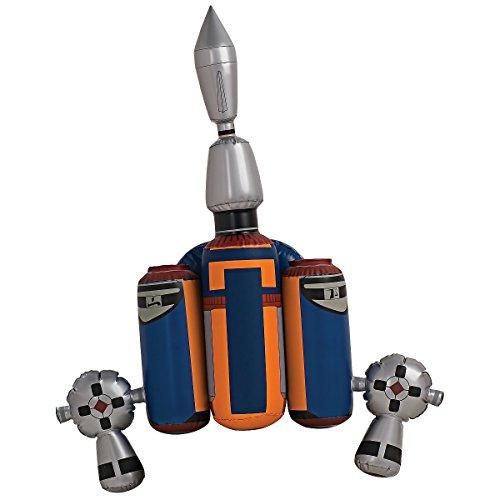 Fett Jet Pack - Jango Fett Inflatable Jetpack Costume Accessory
