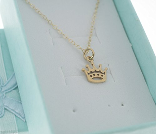 little-girls-crown-necklace-in-natural-bronze-on-a-14-gold-filled-flat-cable-chain-princess-crown-ne
