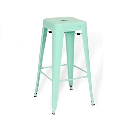 Amazon.com: DoatShop US Stackable Bar Stools Chair Kitchen ...