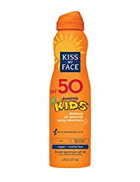 Kiss My Face Kids Defense Continuous Spray Sunscreen SPF 50 Sunblock, 6 oz BOBEBE Online Baby Store From New York to Miami and Los Angeles
