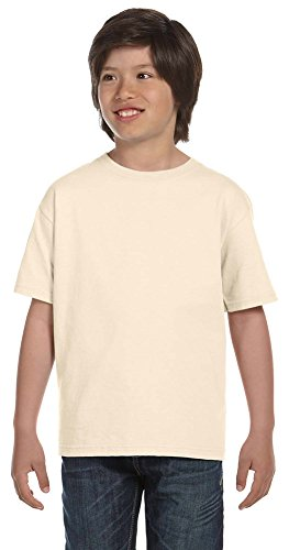 Fruit of the Loom Youth 100% Cotton Lofteez HD T-Shirt, Large, (Loom Lofteez Youth T-shirt)