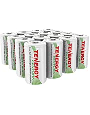 Tenergy Centura D Size Low Self-Discharge (LSD) NiMH Rechargeable Batteries - UL Certified