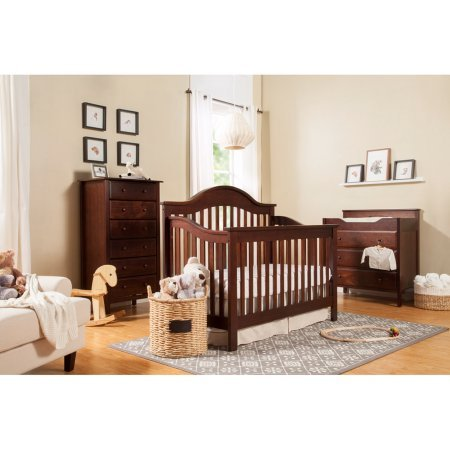 DaVinci Jayden 4-in-1 Convertible Crib with Toddler Bed Conversion Kit by DaVinci