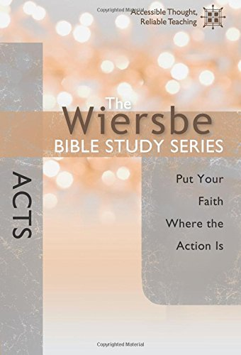 Wiersbe Bible Study Faith Action product image
