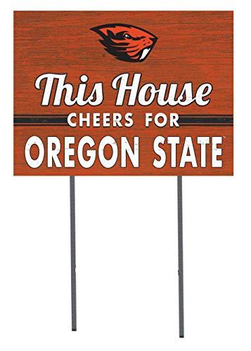KH Sports Fan 18x24 Lawn Sign Oregon State