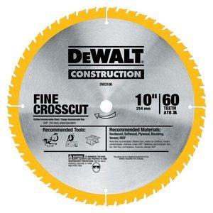 DEWALT 10 in. 60-Tooth Carb