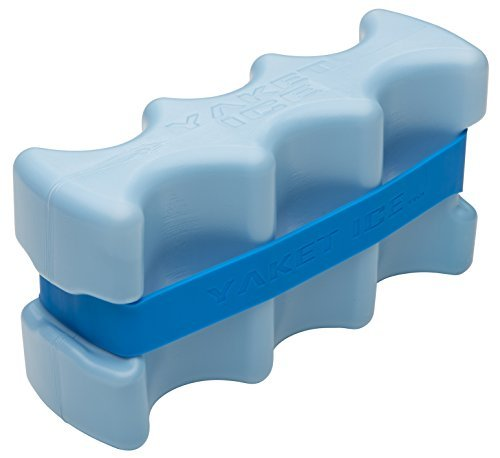 YAKET ICE: Innovative, super cold, extra large 3.3lb. high performance beverage ice pack
