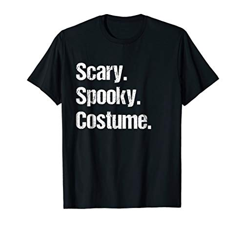 Scary Spooky Last Minute Halloween Costume Gift -