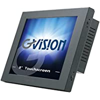 Gvision K08AS-CA-0630 8.4IN LCD TOUCH SCN, 5-WIRE RESISTIVE-USB, SVGA 800X600, 450 NITS, 600:1 CONTRAST, VGA INPUT, 75MM VESA, BLACK METALLIC BEZEL