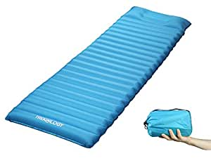 Waterproof Ultralight Inflating Sleeping Mat Air Bed Camping Mattress W// xI