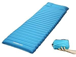 Waterproof Ultralight Inflating Sleeping Mat Air Bed Camping Mattress W// xI