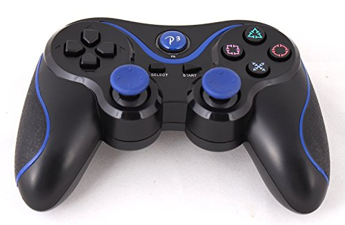USPRO® PS3 Bluetooth 6 Axis Wireless Game Controller Gamepad Joypad Dualshock with Charging Cable for SONY Playstation 3