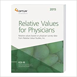 Book 2015 Relative Values for Physicians