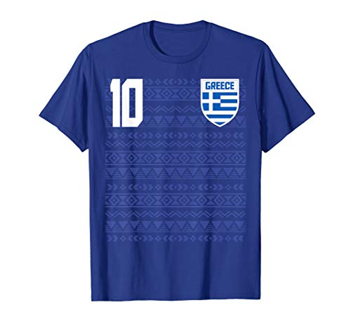 Retro Greece Soccer Footballl Jersey Shirt Tee