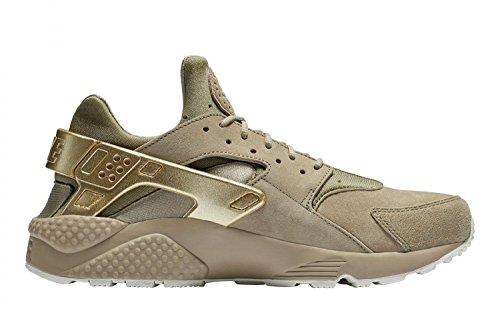 - Nike Men's Air Huarache Run PRM Khaki/MTLC Gold Coin Sail Running Shoe 9.5 Men US