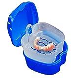 Denture Box Case, Riforla Denture Bath Box Case