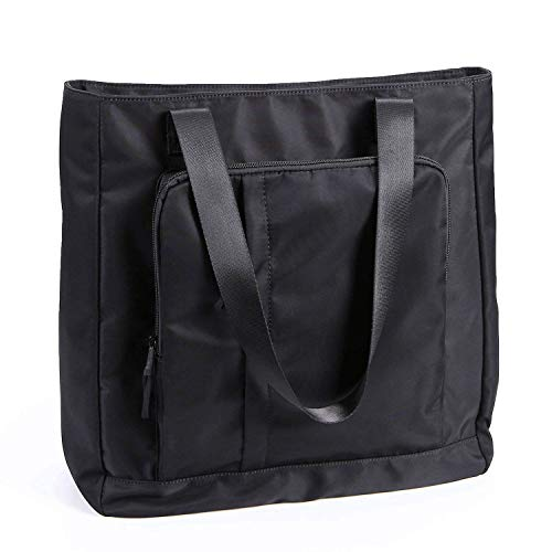 Water Resistant Large Travel Tote Shoulder Bag Lightweight Gym Tote for Men Women Unisex Day Bag