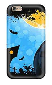 Iphone 6 Hard Back With Bumper Silicone Gel Tpu Case Cover Halloween