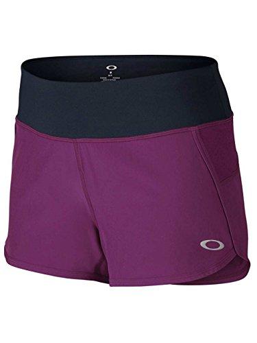 Oakley Mujer Crunch y Burn Pantalones Cortos 2.0 morado - Phlox
