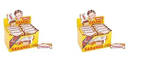 Tunnock's Caramel Wafer Biscuits Bundle of 96 (2 Cases) Expires Dec 2018 Delivers 3-5 Days USA. by Tunnock's