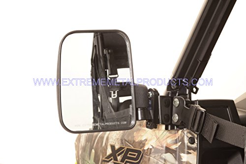 Polaris Ranger Folding Mirror Set for PRO-FIT Cages by Extreme Metal Products LLC