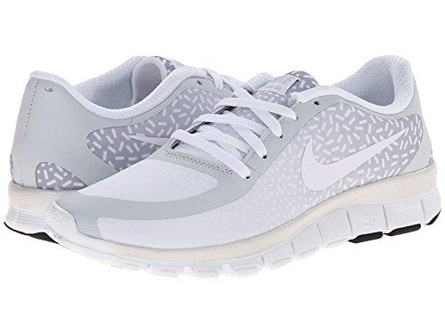 Nk platinum NS W Scarpe Nike white 5 Sportive Pt white 0 Donna V4 pure Free 5qpnfSwx4