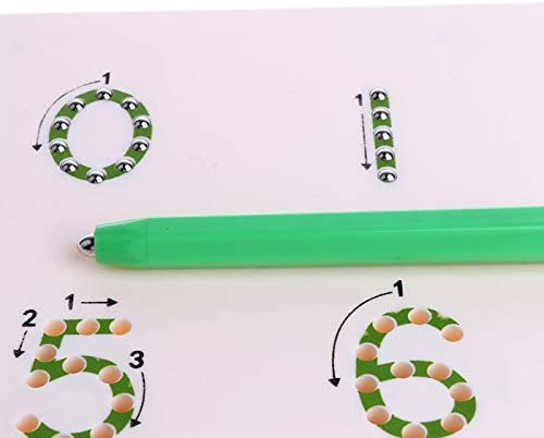 Geschenk Gro/ßes Brett Lernspielzeug Guajave Magnettafel mit Magnet Rot Zeichentafel f/ür Kinder