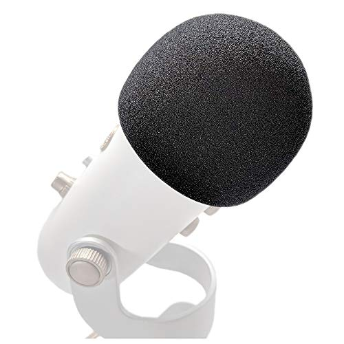 Xentyx Pop Filter for Blue Yeti and Yeti Pro - Also Covers Large Microphones such as MXL or Audio Technica - Superior Quality Dense Foam Windscreen Mic (Best Generic Pop Filters)
