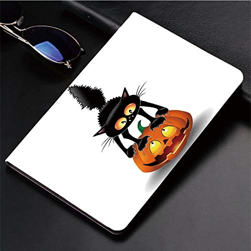 3D Printed iPad Pro 10.5 Case,Pumpkin Spooky Cartoon Characters Halloween,Protective Cover with Auto Wake/Sleep Compatible with Apple iPad Pro 10.5 inch 2017 -