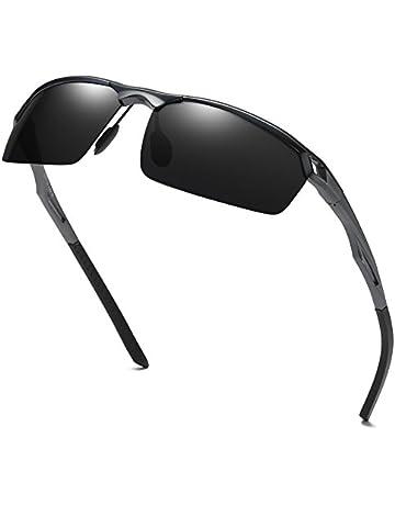 d2ce982510 Duco Hommes Lunettes de Soleil Polarisées de Style Sportif UV400 8550